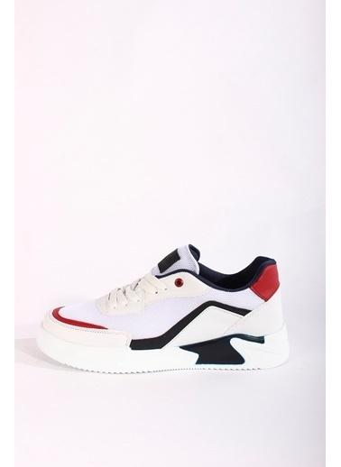 Rodrigo Erkek Beyaz Rahat Tabanlı Sneaker Ayakkabı Beyaz